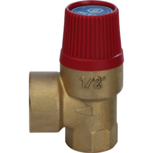 Клапан предохранительный 1/2″вн-вн 3Bar RVC